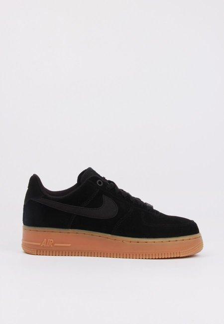 Nike Air Force 1 07 SE SNEAKER - black/gum