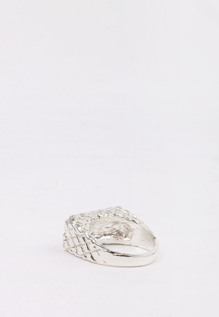 27 Mollys XX Flower Ring - silver