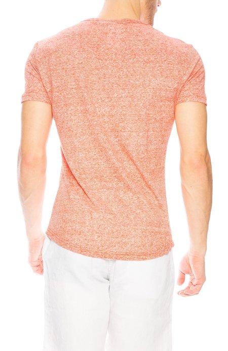 Orlebar Brown OB Linen Stripe T-Shirt - Hacienda