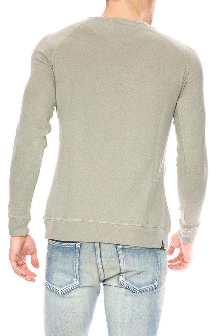 Denham Raglan Crew Sweatshirt - 1000 Year Green