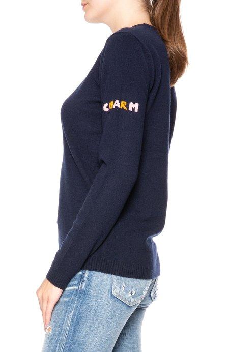 Bella Freud Rainbow Horseshoe Sweater
