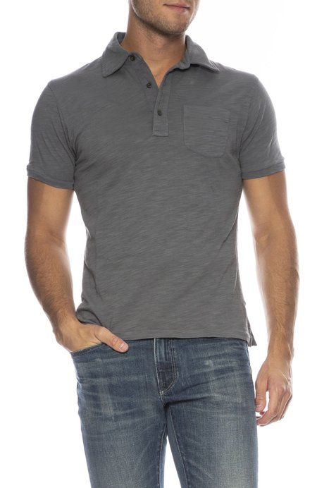 Alex Mill Rugby Polo - BLUE GRAPHITE