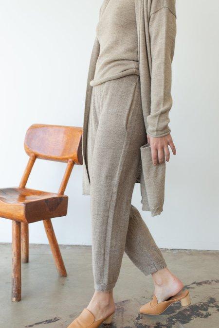Été Noir Medium Lightweight Trousers - Sand