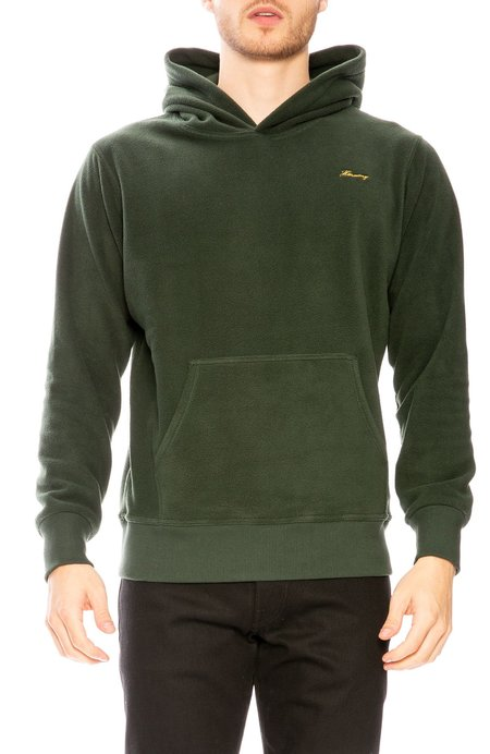 Harmony Serano Polar Fleece Hoodie - Dark Green