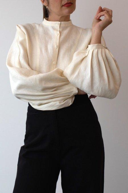 OR Linen Blouson - Cream