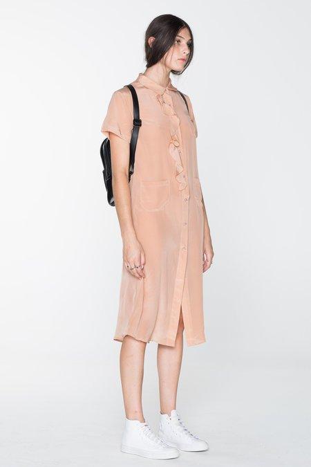 SALASAI GORILLA SHIRT DRESS - OLD PINK
