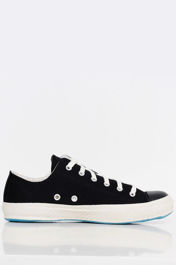 Shoes Like Pottery Black Canvas Sneaker