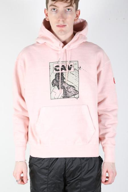 Cav Empt EMPT Panel Heavy Hoodie - Pink