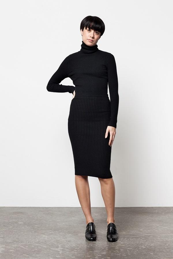 giu giu Nonna Skirt | black