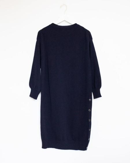 Micaela Greg Lou Sweater Dress - Midnight Blue