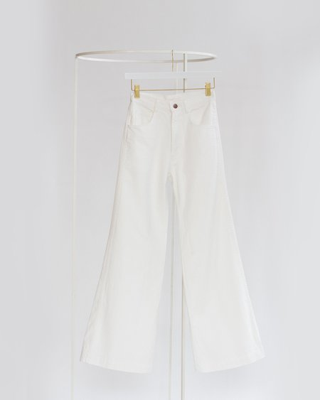 Carleen Nellie Jeans - White