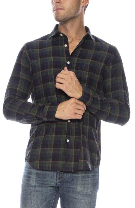 Hartford Storm Slim Fit Button Down Shirt