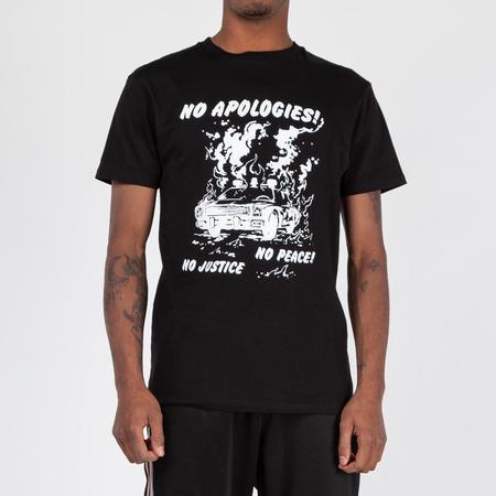 Mister Green No Apologies T-shirt - Black