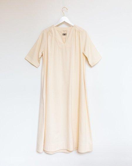 Sunja Link Yoke Dress -  Ivory