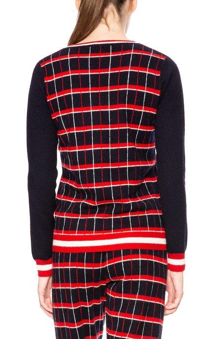 Madeleine Thompson Telesto Sweater - Plaid