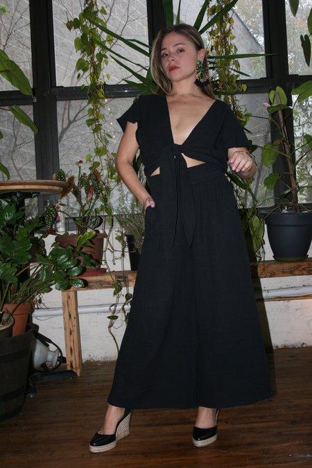 ANAAK Kai Wide Leg Pants - Black