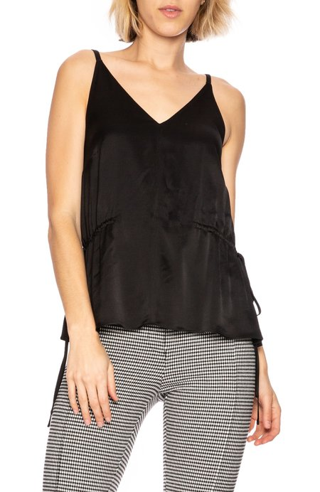 Derek Lam 10 Crosby V Neck Cami - Black
