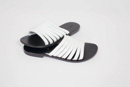 Capri Positano Praiano Sandal - White