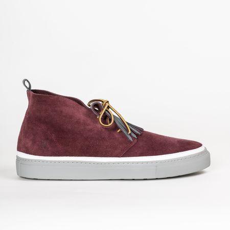 Noah Waxman Hamilton Sneaker - Oxblood
