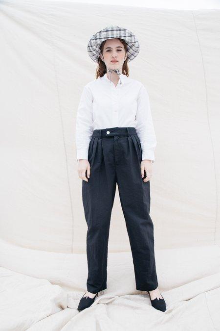 Nikki Chasin Sol Pleated Trouser - Black