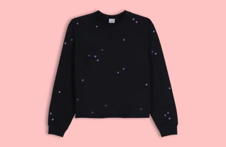 LB2 Studio Moon Dots Crop Sweater