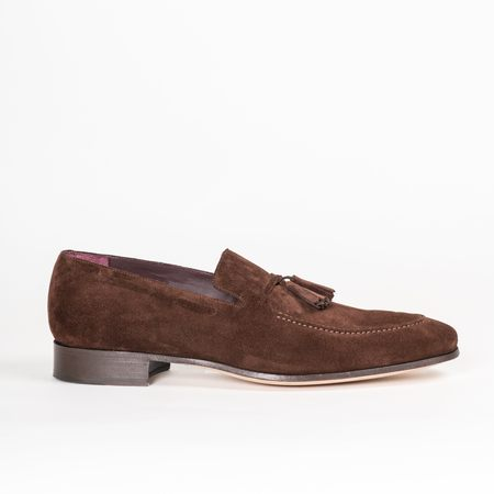 Noah Waxman Orient Loafer and Suede Brush - Java