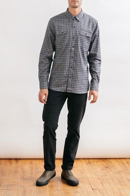 Bridge & Burn Cole shirt - Black Windowpane