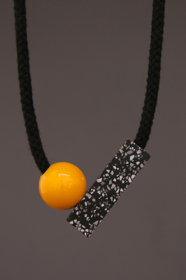 One We Made Earlier Ad Necklace Yellow