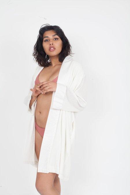 Voloshin Sofia Kimono Jacket - White