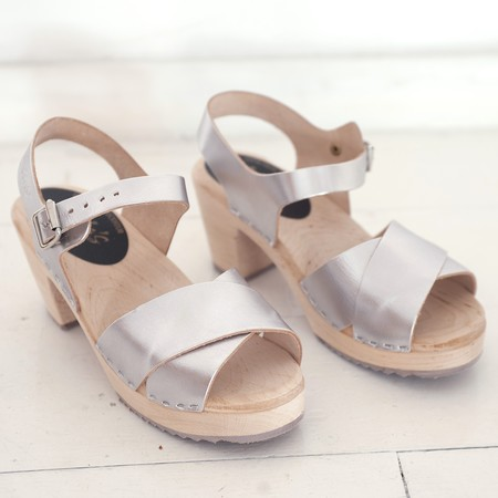Lotta from Stockholm clogs - SILVER