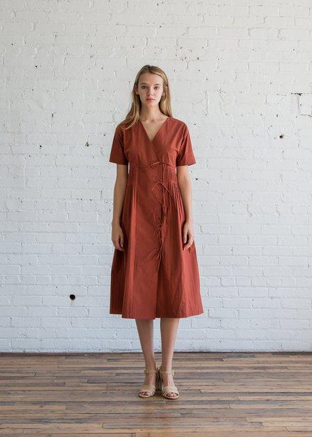 Caron Callahan Mica Dress - Rust