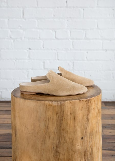 Woman by Common Projects Suede Loafer - Tan