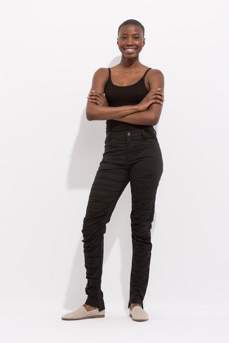 INTER-PRET.us Slim Slouch Jeans - BLACK