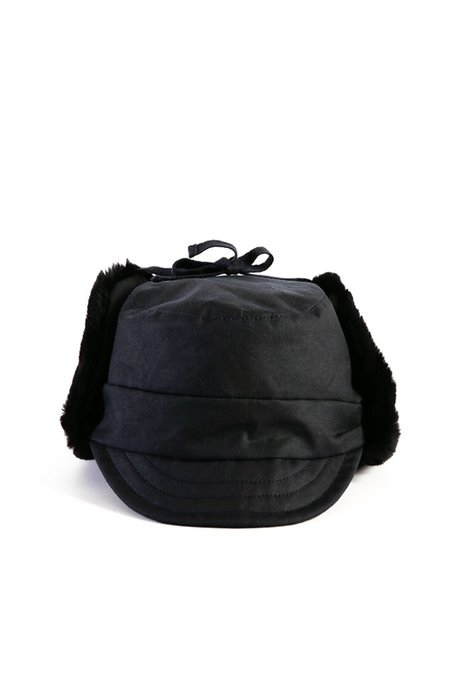 Bridge & Burn Tsuyumi Trapper Hat - Dark Navy Chera