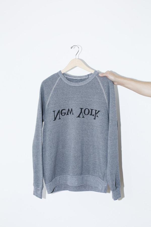 Men's Assembly Grey NY Logo Sweatshirt
