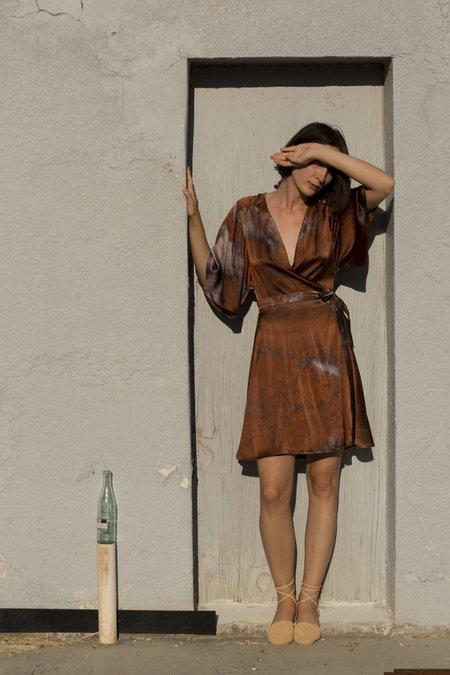 Upstate Wrap Dress - Penny