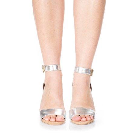Charlotte Stone Samia Heel Silver