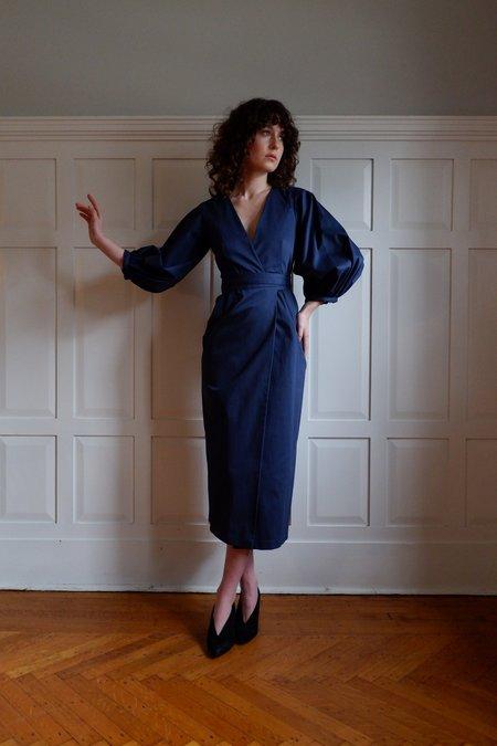 Christine Alcalay Front Wrap Dress