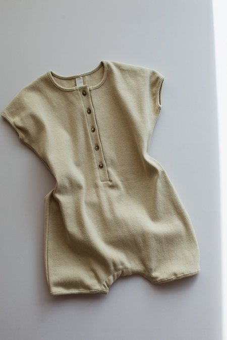 KIDS Millk Weekly Playsuit - Moss