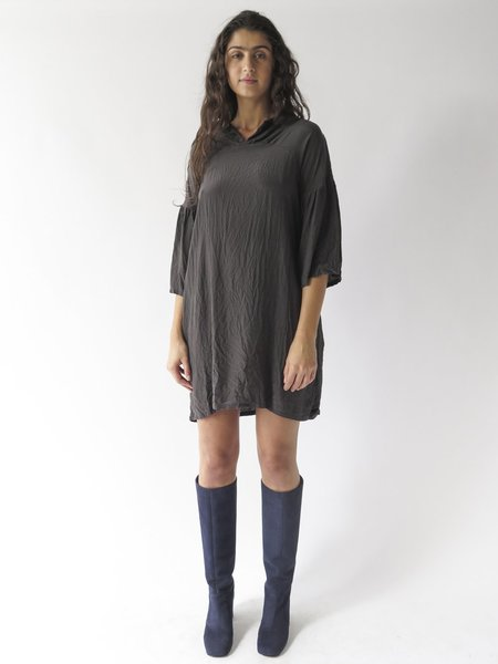 Erica Tanov Fran Dress - Dark Basalt