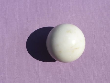 Found by Fourth VINTAGE Single Marble Sphere