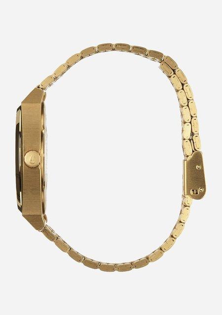 Nixon Time Teller Watch - Gold/Green Sunray