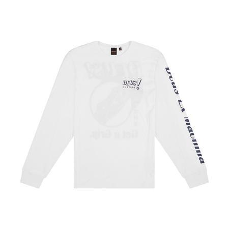 Deus Ex Machina Ketts Long Sleeve T-Shirt - White