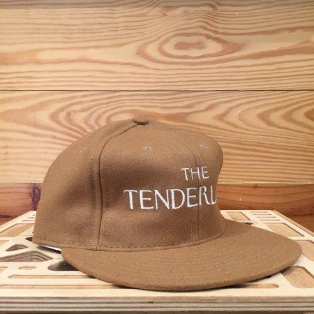 Ebbets Field Flannels X Tilted Brim The Tenderloiner Ball Cap - Camel