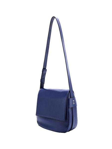 Joseph & Stacey Luna Bubble Cross Bag - Navy