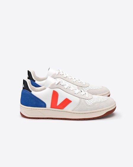 Veja V-10 Bastille Leather Sneakers - Bellerose