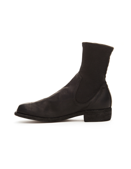 Guidi Leather Chelsea Boots - Black