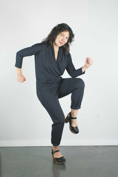 Sarah Liller Celeste Jumpsuit - Graphite
