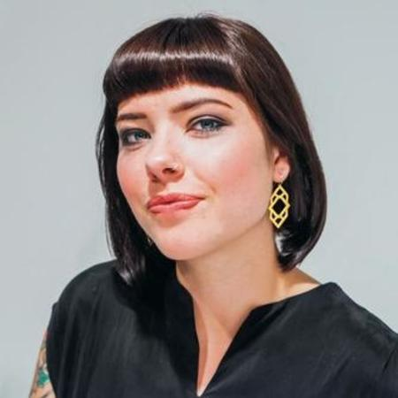 Nikki Jacoby Keya Earrings - Brass