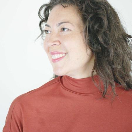 Sarah Liller Rachelle Top - Rust
